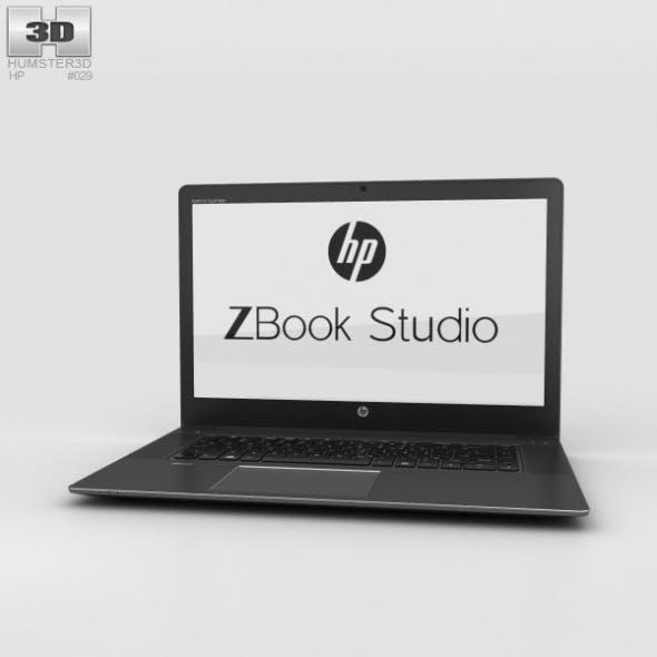 HP Zbook Studio - 3DOcean Item for Sale