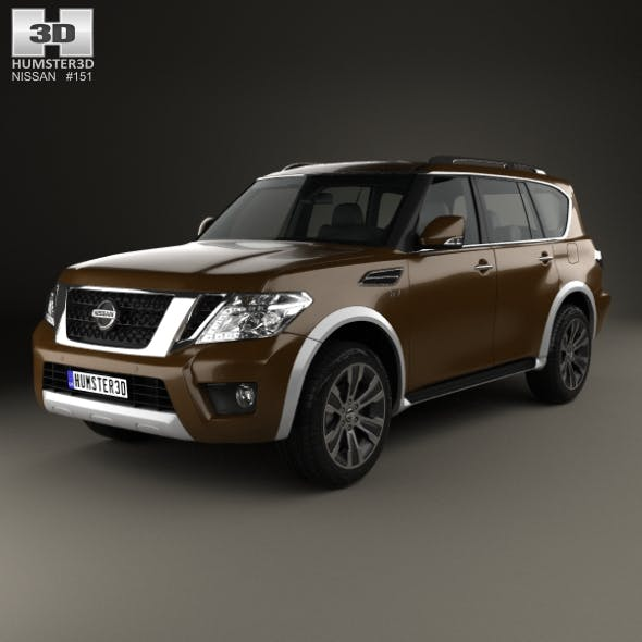 Nissan Armada 2017 - 3DOcean Item for Sale