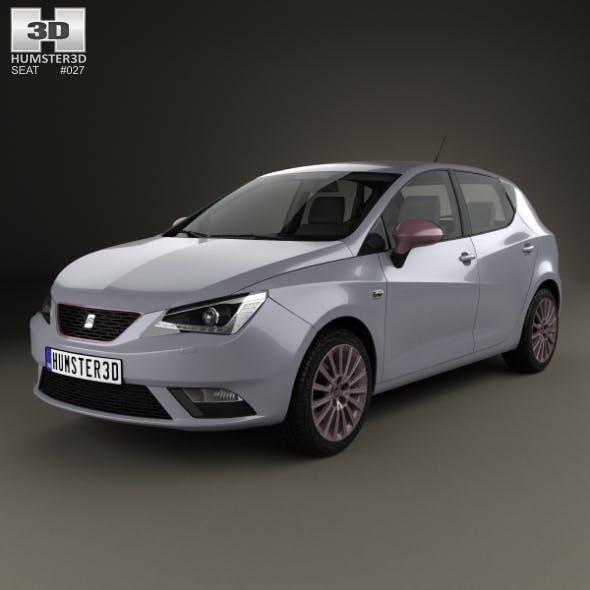Seat Ibiza 5-door hatchback 2015 - 3DOcean Item for Sale