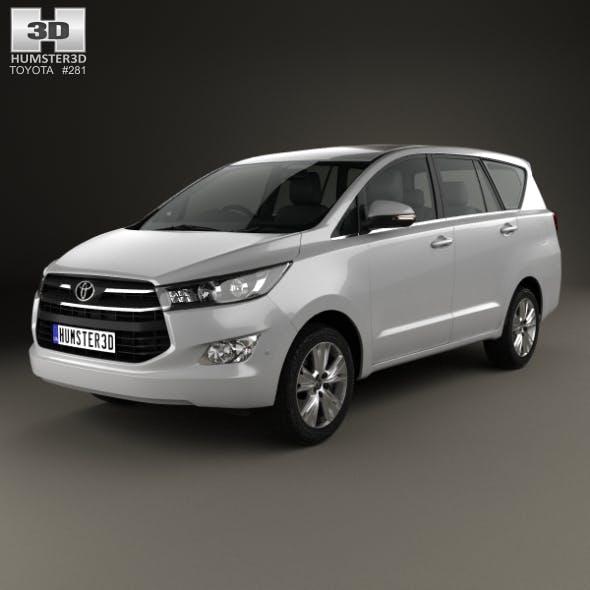 Toyota Innova 2016 - 3DOcean Item for Sale