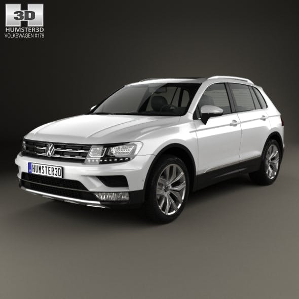 Volkswagen Tiguan Highline 2015 - 3DOcean Item for Sale