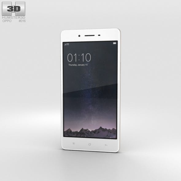 Oppo F1 Gold - 3DOcean Item for Sale