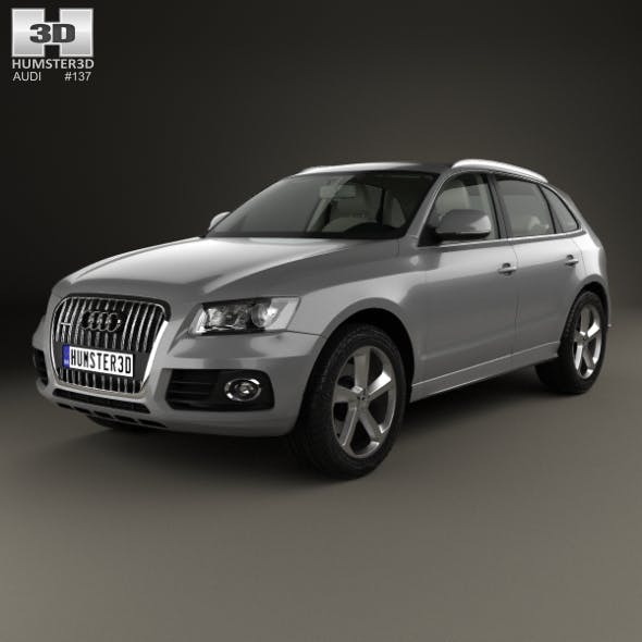 Audi Q5 with HQ interior 2013 - 3DOcean Item for Sale
