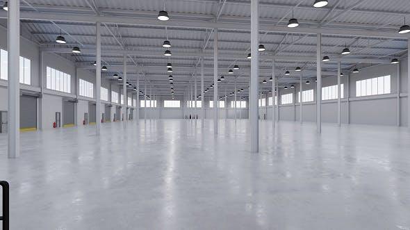Industrial Building Interior 5 - 3DOcean Item for Sale