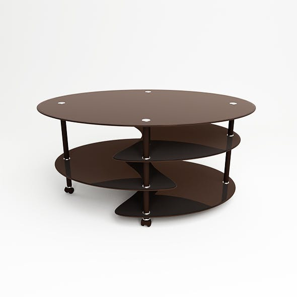 Glass table - 3DOcean Item for Sale