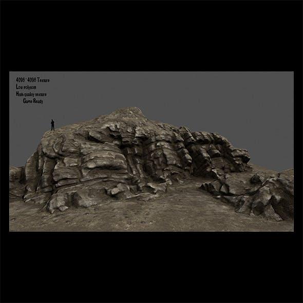desert rocks 1 - 3DOcean Item for Sale