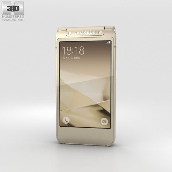 Samsung W2016 Gold - 3DOcean Item for Sale