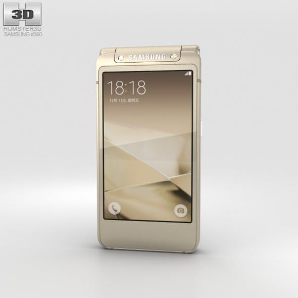 Samsung W2016 Gold