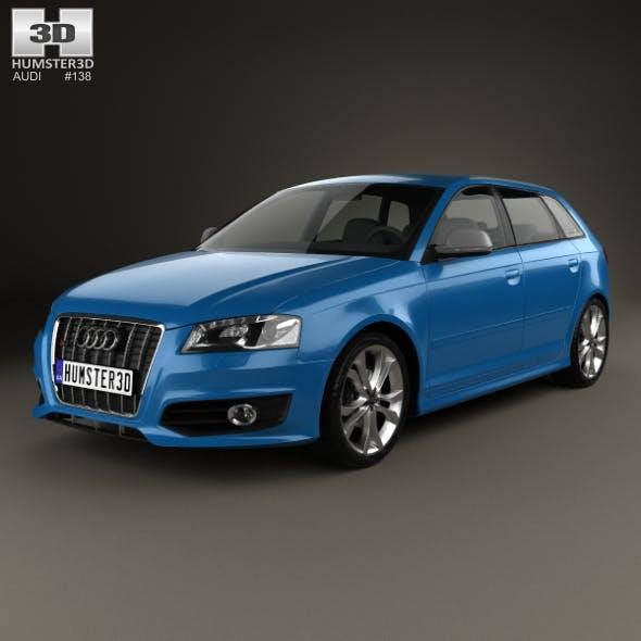 Audi S3 Sportback 2008 - 3DOcean Item for Sale
