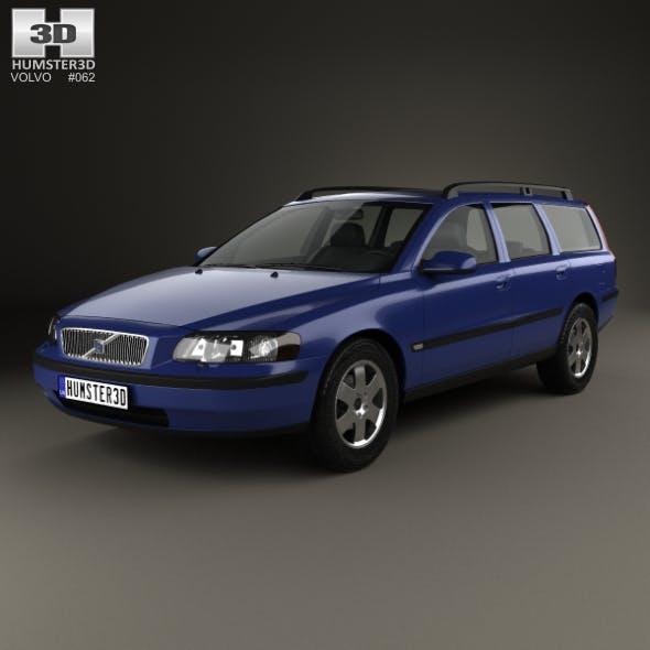 Volvo V70 2000 - 3DOcean Item for Sale