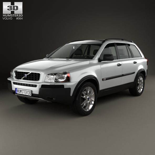 Volvo XC90 2002 - 3DOcean Item for Sale