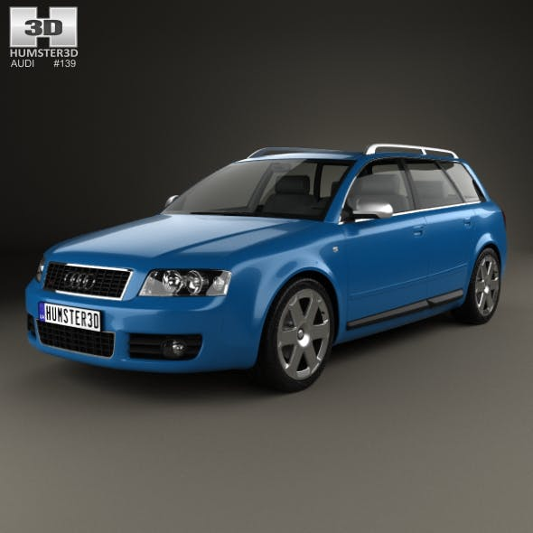 Audi S4 Avant 2003 - 3DOcean Item for Sale