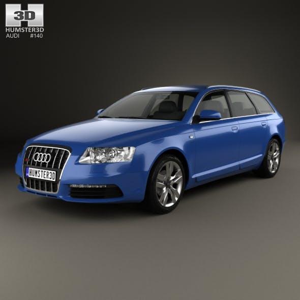 Audi S6 Avant 2006 - 3DOcean Item for Sale