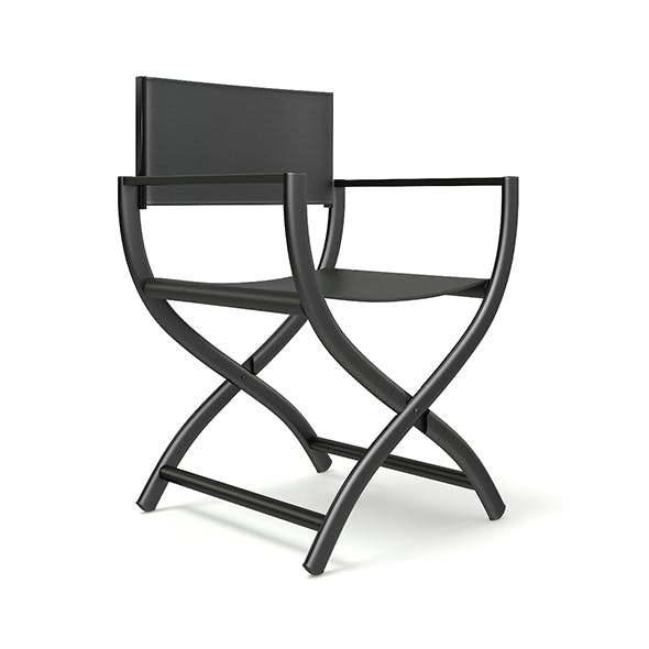 Black Chair 3D Model