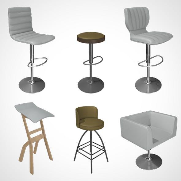 Chair Bar Stool 001