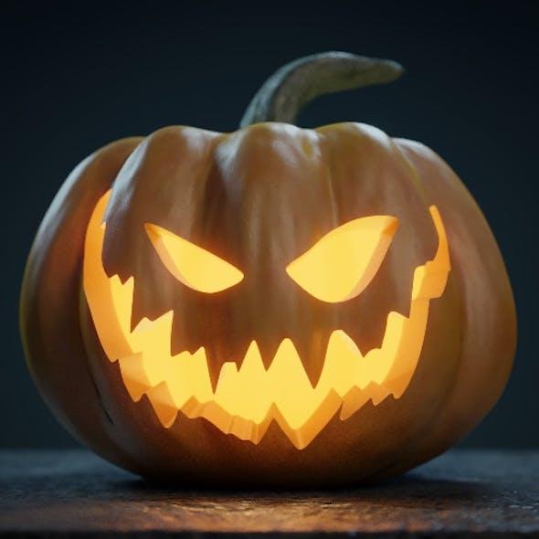 Halloween Pumpkin - Jack-o-lantern