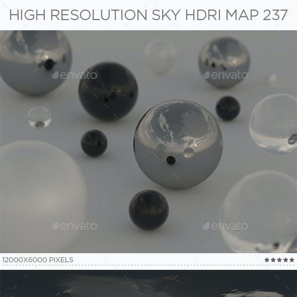 High Resolution Sky HDRi Map 237