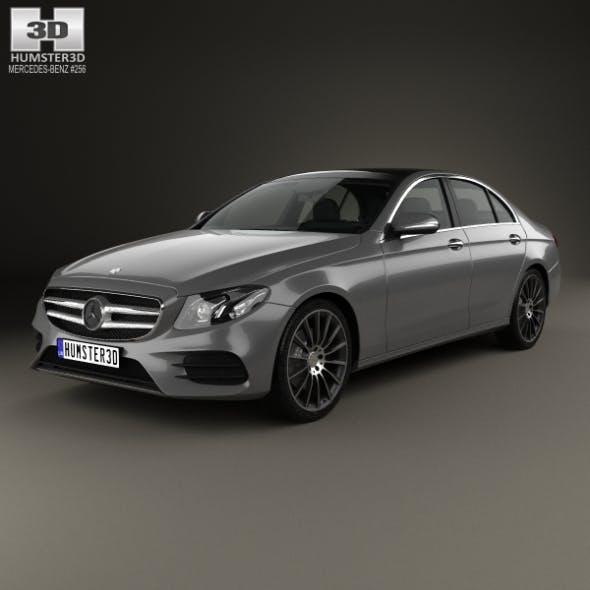 Mercedes-Benz E-class (W213) AMG Line 2016 - 3DOcean Item for Sale