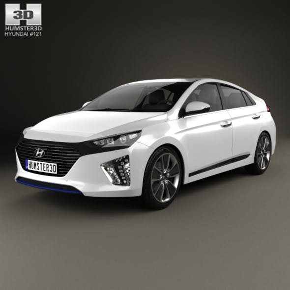 Hyundai Ioniq 2017 - 3DOcean Item for Sale