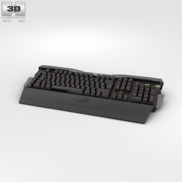 Asus ROG GK2000 Keyboard - 3DOcean Item for Sale