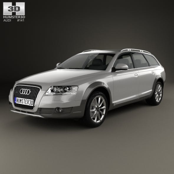 Audi A6 (C6) Allroad 2006 - 3DOcean Item for Sale