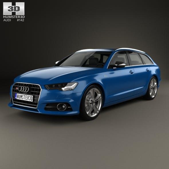 Audi S6 (C7) Avant 2014 - 3DOcean Item for Sale