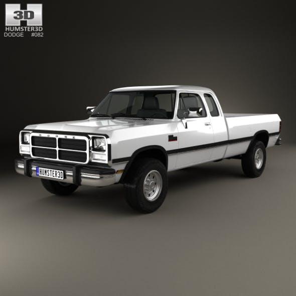 Dodge Ram Club Cab 1991