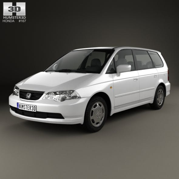 Honda Odyssey (JP) 1999 - 3DOcean Item for Sale