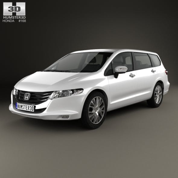 Honda Odyssey (JP) 2008 - 3DOcean Item for Sale