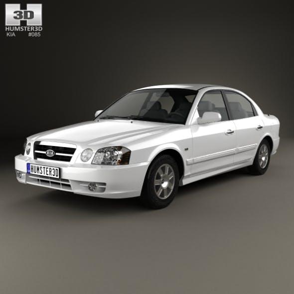 Kia Magentis 2002 - 3DOcean Item for Sale