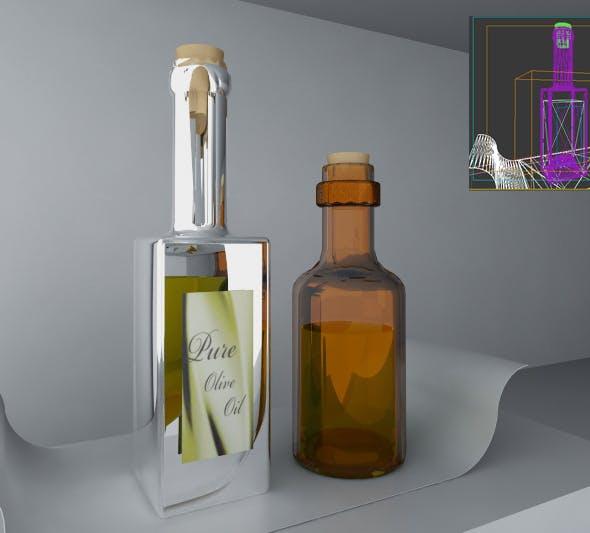 olive oil and vinegar - 3DOcean Item for Sale