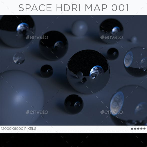 Space HDRi Map 001