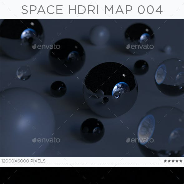 Space HDRi Map 004