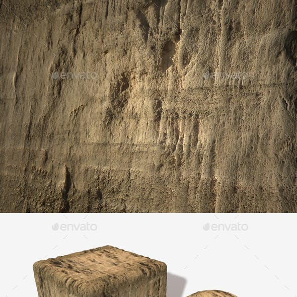 Dirt Cliff Face 1 Seamless Texture