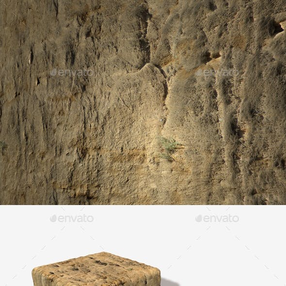 Dirt Cliff Face 2 Seamless Texture