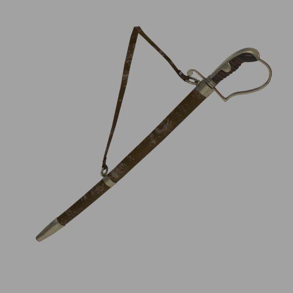 Ottoman Sword - 3DOcean Item for Sale