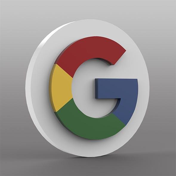 Google Logo - 3DOcean Item for Sale