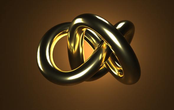 Gold Studio Light - 3DOcean Item for Sale