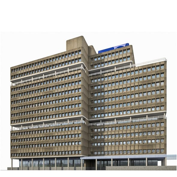 Amsterdam University Building
