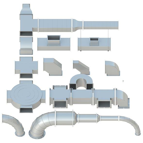 Ceiling Ventilation - 27 3D models