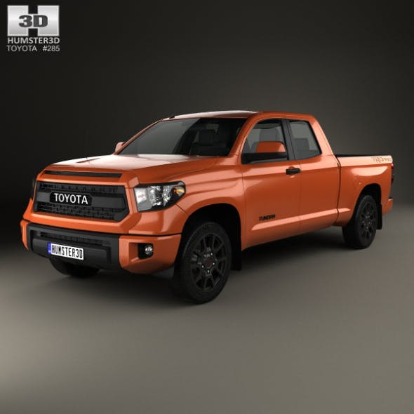 Toyota Tundra Double Cab TRD Pro 2014 - 3DOcean Item for Sale