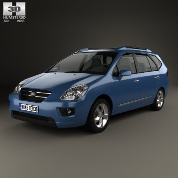 Kia Carens 2006 - 3DOcean Item for Sale