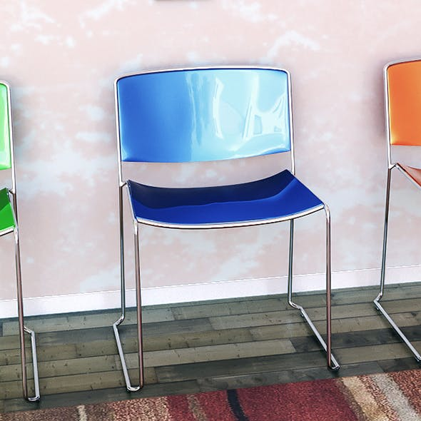 chair Sporro Spindle Color