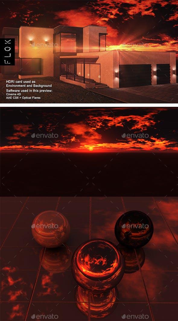 Sunset Desert 108 - 3DOcean Item for Sale