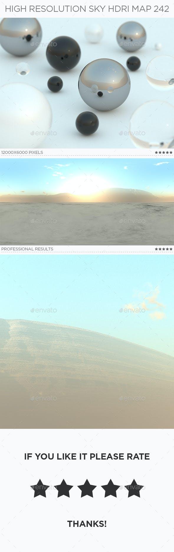 High Resolution Sky HDRi Map 242 - 3DOcean Item for Sale