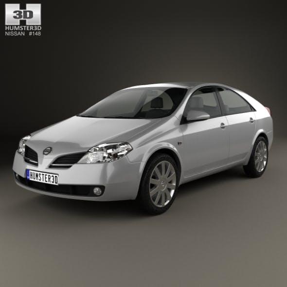 Nissan Primera hatchback 2002 - 3DOcean Item for Sale