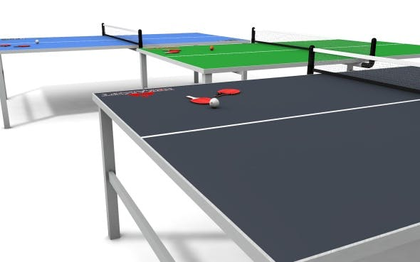 Table Tennis Pack - 3DOcean Item for Sale