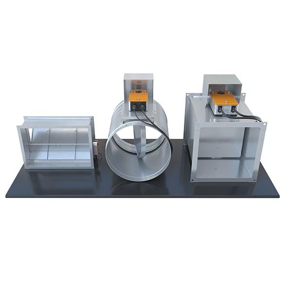 Air dampers for ventilation - 1 - 3DOcean Item for Sale