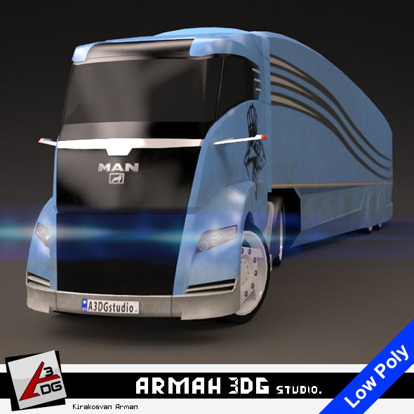 MAN Concept S - 3DOcean Item for Sale