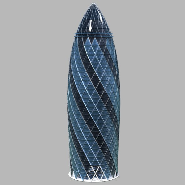 The Gherkin 30 St Mary Axe Skyscraper
